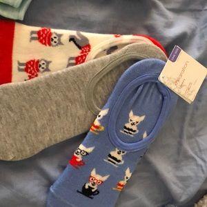 J. Crew Accessories - NWT no-show sock set